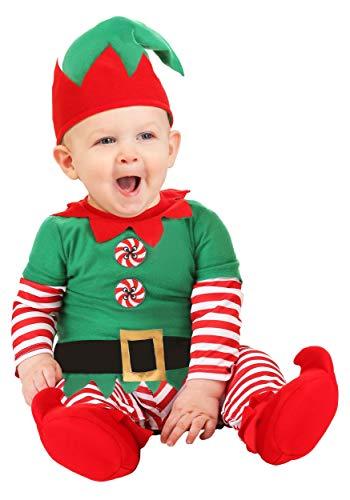Infant Christmas Elf Costume 6/9 Months