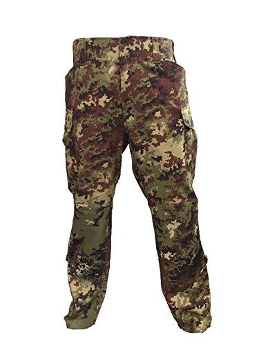 ALGI Pantaloni da Combattimento Antistrappo Vegetato Trattato IR (50)