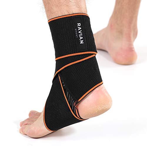 RAVIAN tobillera for para esguince– Adjustable Plantar Fasciitis Support for Running, deportiva, tobillera estabilizadora for Men & Women