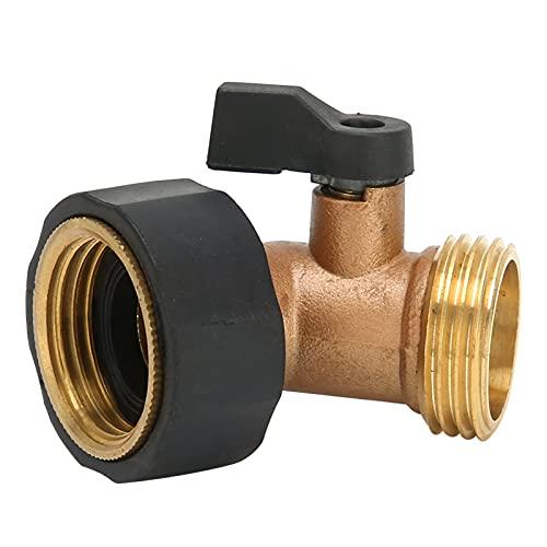 Conector de válvula de Cierre, Codo de Manguera Diseño de Codo de 45 Grados para Acoplamiento de válvula de Cierre de Codo de Manguera