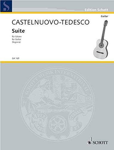 Suite d-Moll: op. 133. Gitarre. (Edition Schott)