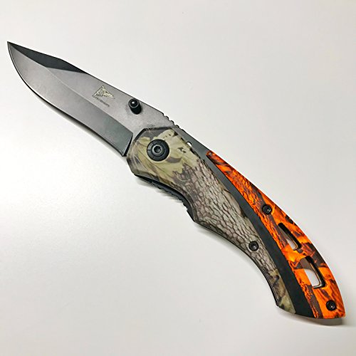 LEGENDARIOS, Best Survival Camping Knife, Army Knives, Stainless Steel Knife, Tactical Knife, Pocket Rescue Knife.