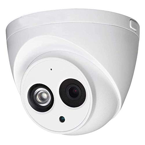 4Mp POE IP Outdoor Security Network Camera IPC-HDW4433C-A 3.6MM H.265 WDR IR Night Vision, Dome Surveillance Camera with Built-in Mic IP67 Weatherproof