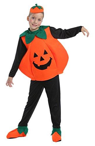 Widmann 55518 ? Costume de citrouille d'Halloween en taille 11/13 ans