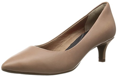 Rockport Damen Kalila Pump Pumps, Beige (Warm Taupe 003), 38 EU