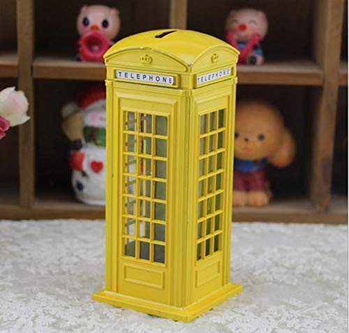 Read About Esake Phone Booth Deposit Bin, Perfect Unique Gift, Nursery Decoration, Souvenir Or Child...