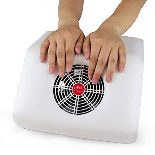 Nagelstofzuiger Krachtige zuigstofafzuigmachine, spijker, ventilator, professionele pedicure-kunstapparatuur, manicure