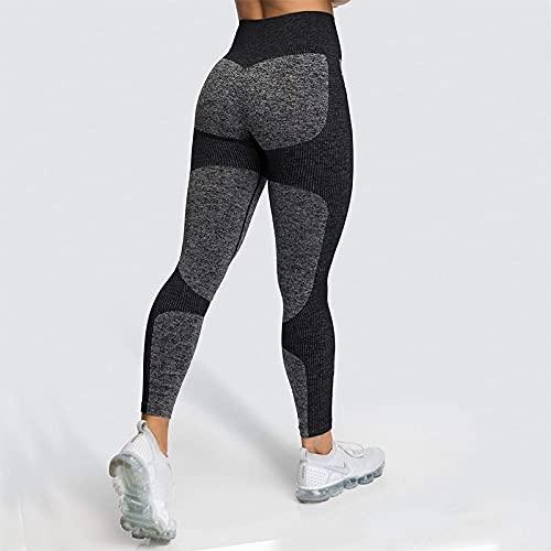 ShFhhwrl Mujer Leggins Leggings para Fitness, Mallas De Yoga De Cintura Alta, Mallas para Mujer, Ropa De Entrenamiento, Pantalones De Entrenamiento para Mujer,