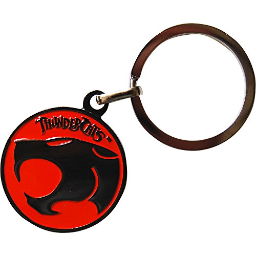 Thundercats Logo Enamel Keyring.