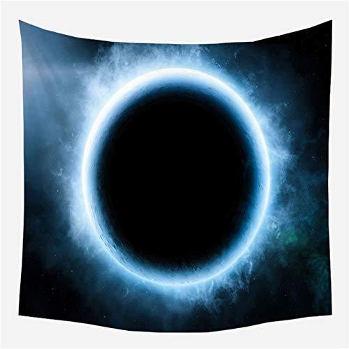 KHKJ Hermoso Cielo Estrellado Impreso Tapiz de Pared Grande Hippie Barato Colgante de Pared Tapices de Pared Bohemios Mandala Decoración de Arte de Pared A6 200x150cm