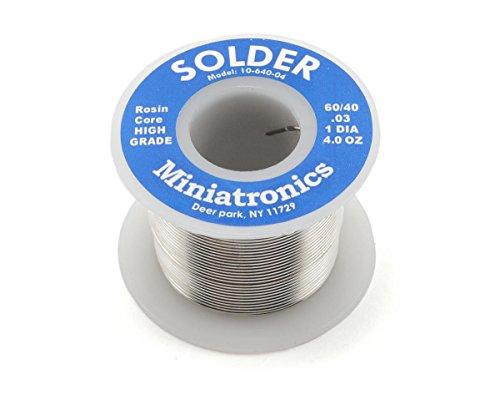 Rosin Core Solder 60/40, 4oz