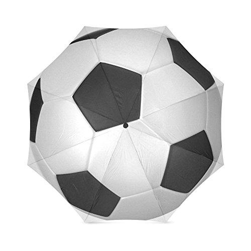Moeders, vaders, broers, cadeaus, stijlvol, voetbal voetbal, 100% stof en aluminium, hoogwaardige paraplu van voetbal paraplu