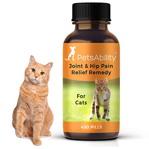 Cat Hip and Joint Pain Relief - Natural Anti-Inflammatory Remedy for Chronic...