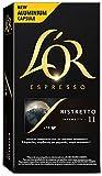 L'Or Espresso Café Ristretto, Intensidad 11, 10 Cápsulas de Aluminio Compatibles con Máquinas Nespresso