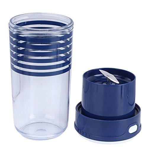 Exprimidor de frutas ecológico, exprimidor eléctrico, portátil para acampar en casa(blue)