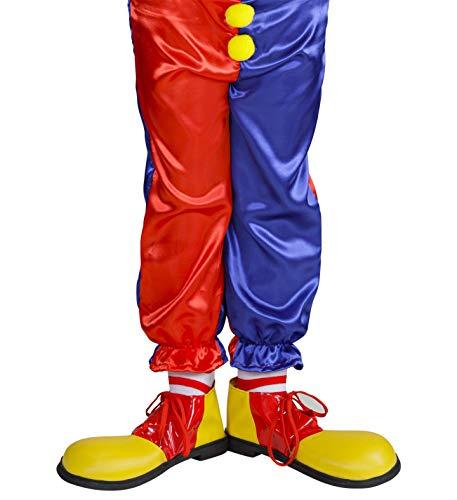 Widmann - Chaussures de clown enfant 6/12 ans
