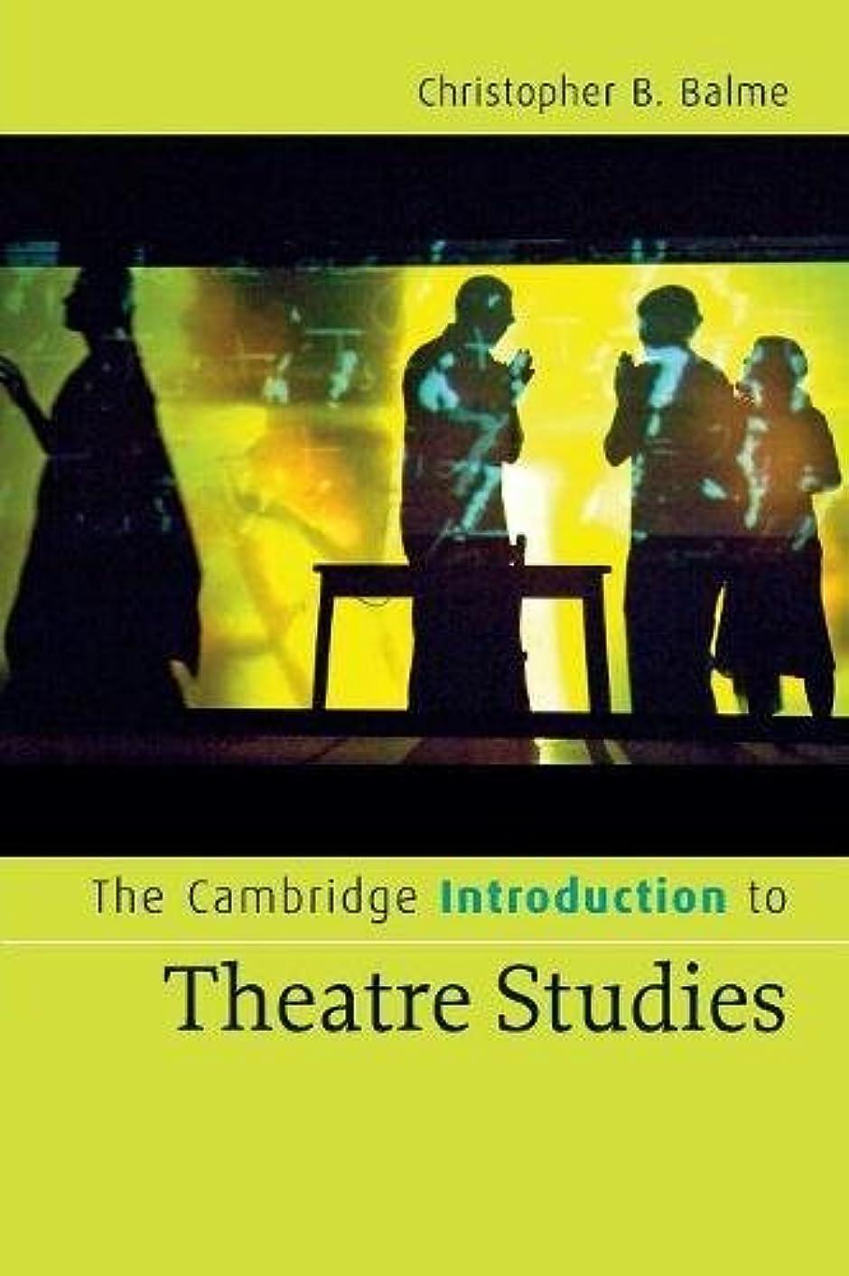 ウイルス返還コーナーThe Cambridge Introduction to Theatre Studies (Cambridge Introductions to Literature)