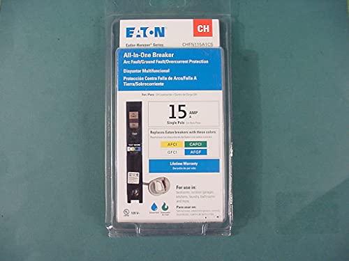 All-In-one Breaker 15 Amp single pole CHFN150A1CS