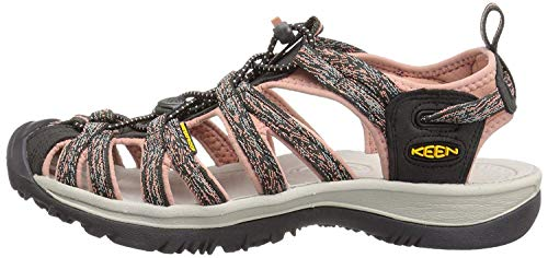 KEEN Women's Whisper Sandal,Raven/Rose Dawn,7 M US