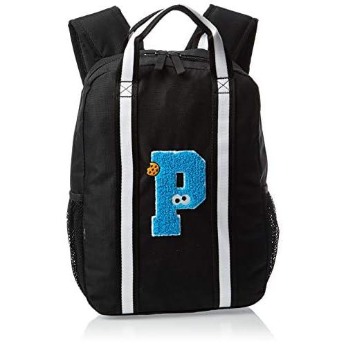 PUMA Sesame Street Backpack, Zaino Unisex Bambino, Black, OSFA
