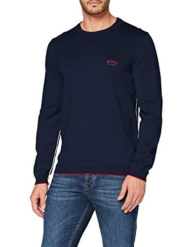 BOSS Herren Riston_S21 Pullover, Navy410, XXL