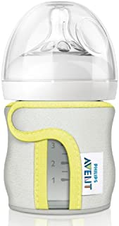 Philips Avent Glass Baby Bottle Sleeve/Jacket, 120 ml (Colors May Vary)