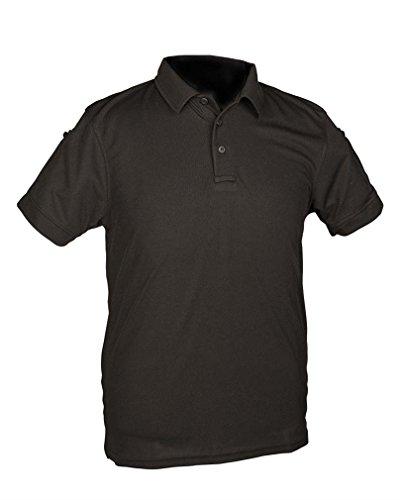 Mil-Tec Tactical Quickdry Poloshirt schwarz Gr.XL