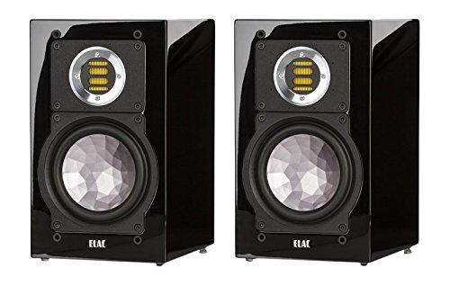 ELAC BS 243.2 (1 par) Barra de Sonido de Alto Brillo Negro