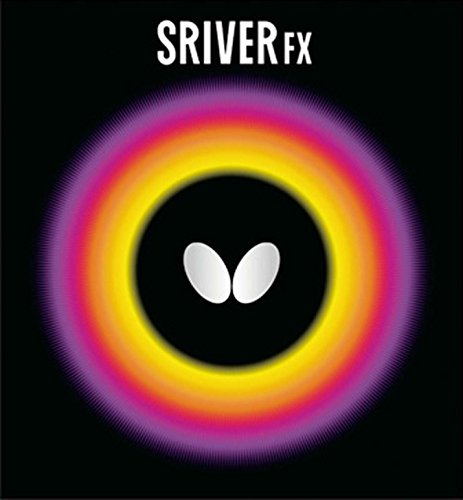 Cheapest Prices! Butterfly Sriver-FX Rubber Sheet (1.9, Black)