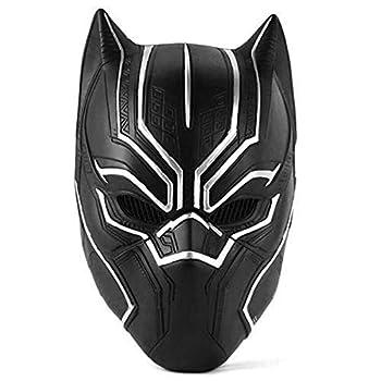 Superhero Black Panther Overhead Movie Halloween Latex Helmet Mask