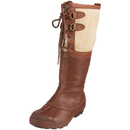 Hot Sale UGG Australia Women's Belcloud Boots Cognac Size 7