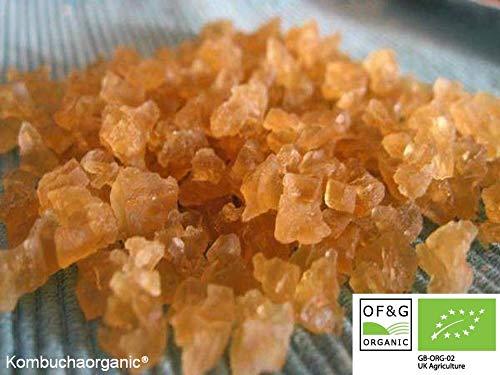 Vegan goedgekeurd water Kefir granen, levende probiotica, Japanse waterkristallen, probiotische starter (40g) door Kombuchaorganic®