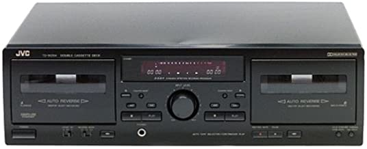 JVC TD-W254BK. Dual-Well Auto-Reverse Cassette Deck