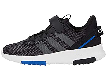 adidas Racer TR 2.0 Running Shoe Black/Grey/Royal Blue 1.5 US Unisex Little Kid
