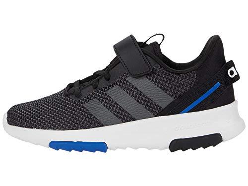 adidas Racer TR 2.0 Running Shoe, Black/Grey/Royal Blue, 3 US Unisex Little Kid