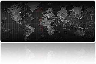 قاعدة ماوس كبيرة XXL للالعاب بقاعدة غير قابلة للانزلاق، وحجم ممتد وتصميم محمول، للكمبيوتر المكتبي ولوحة مفاتيح الكمبيوتر و...