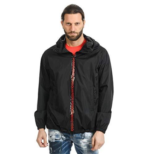 DSQUARED2 Luxury Fashion Herren UAAC2ST045901701 Schwarz Polyester Jacke   Jahreszeit Outlet