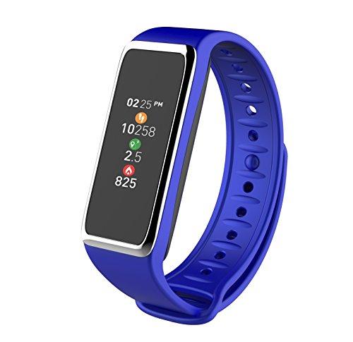 MyKronoz ZeFit 3-Pulsera de Actividad y sueño, Color Azul, Unisex, Universal