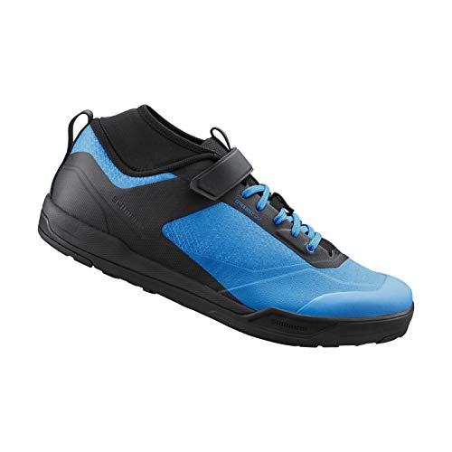 SHIMANO SH-AM702 Bicycle Shoes, Blue, 43.0