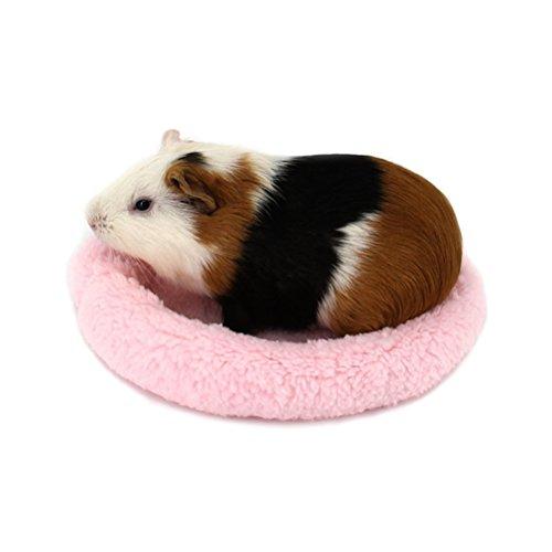 ueetek Hamster lit rond velours chaud sommeil tapis Pad pour Hamster/hérisson/écureuil/souris/rats et autres petits animaux