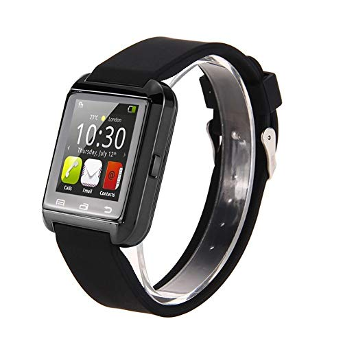 Rastreador de Ejercicios Original U8 Wrist Smart Watch Phone Bluetooth Slim Smart Bracelet con podómetro Step Counter Watch for Android Monitorización de la frecuencia cardíaca y del Sue