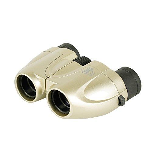 Kenko 双眼鏡 コンサート用 CERES(セレス) 8×21 CF-S ポロプリズム式 8倍 21口径 レンズクロス付属 シャンパンゴールド CR01