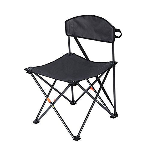 Be&xn Camping klappstuhl außen, Canvas Canvas Liegestühle Amerikanischen Deck-Lounge-Sessel Portable Ageln Stuhl Leisure Stuhl Liegestuhl Heavy-Duty-schwarz W50xH75cm(20x30inch)
