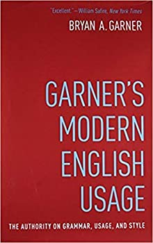 by Bryan Garnerand - Garner s Modern English Usage  Hardcover  Oxford University Press  4 Edition  April 8 2016  - [Bargain Books]