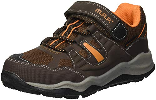 M.A.P. Kids Rappel Girls' and Boys' Hiking Sneaker,brown,4 M US Toddler