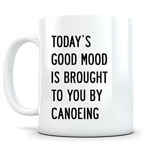 DKISEE Taza de canoa, canoa, canoa, regalo de canoa, regalo de canoa, idea de regalo de canoa, taza de canoa, divertida taza de canoa