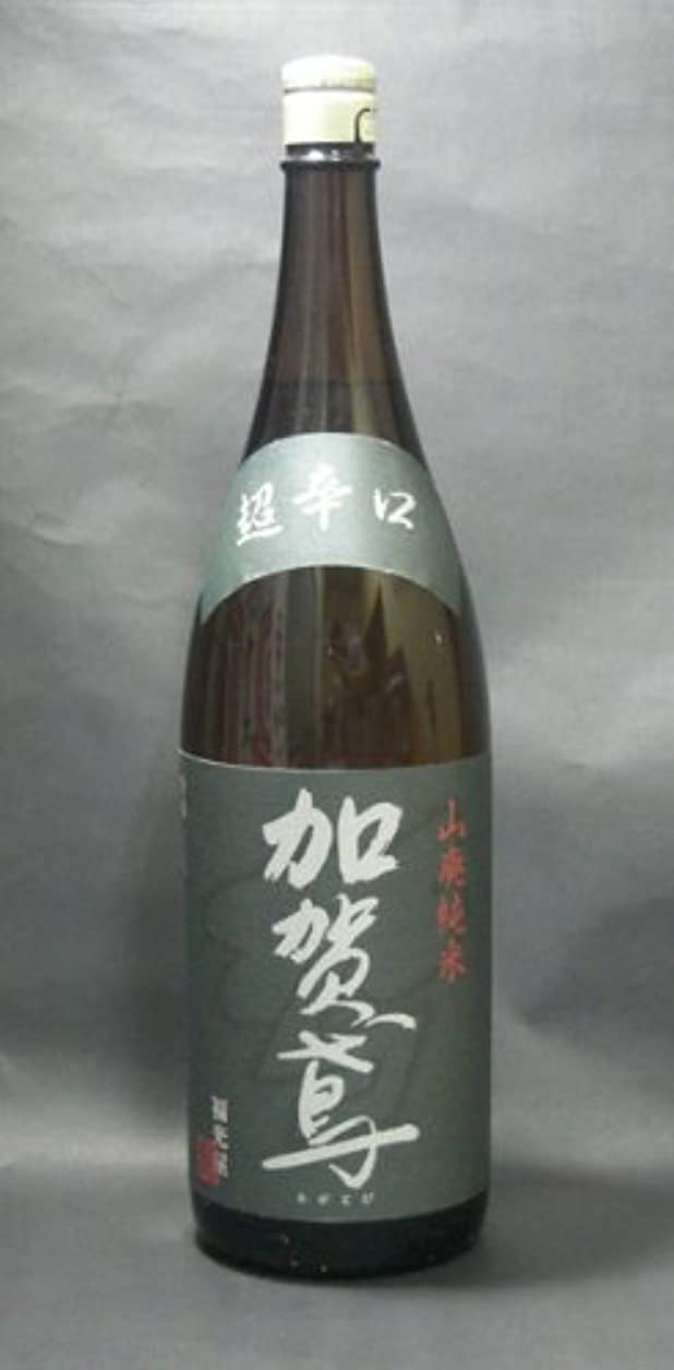 ショルダー別のラッシュ加賀鳶山廃純米超辛口 1800ml