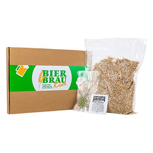 Braupartner - Caja de cerveza (rellenable, materias primas auténticas, para volver a pedir y volver a preparar cerveza con el set de elaboración de cerveza)