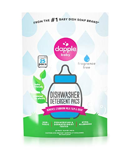 2 Packs of Dapple Dishwasher Pods - Automatic - Fragrance Free - 25 Count