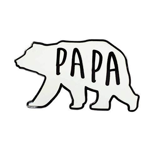 Papa Bear Fatherly Love Enamel Pin
